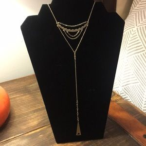 Cascading Y-Necklace